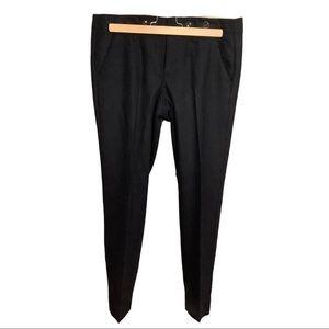 Anthropologie Paper Boy Navy Wool Pants sz 4